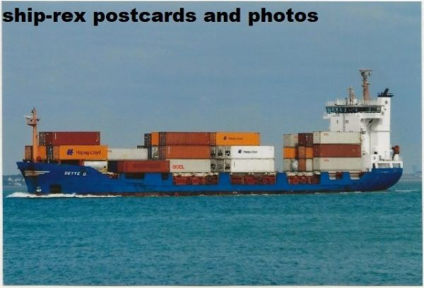 DETTE G (container ship) photo